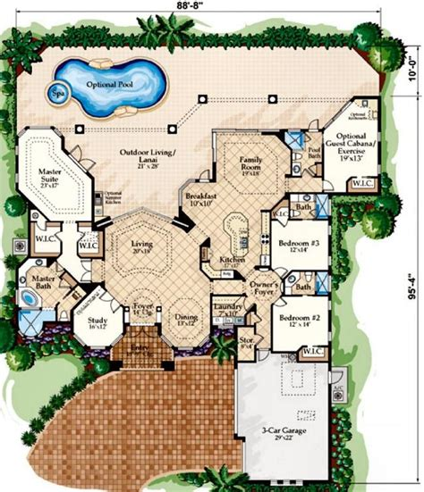 mediterranean house designs and floor plans mediterranean villa style flooring mediterranean style