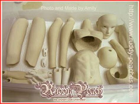 jointed doll molds ruddypeach porcelain jointed dolls mold and