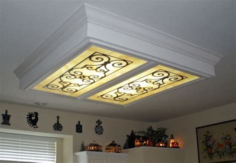 kitchen light covers fluorescent lighting decorative fluorescent light covers