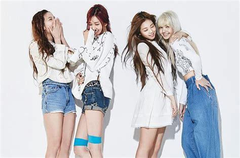 black pink girl band blackpink s major debut new k pop girl group lands no 1