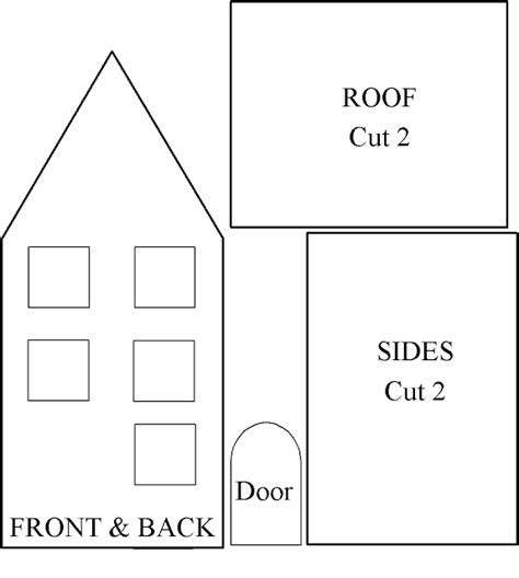 House Template by Cart Before The Houses For You And Me
