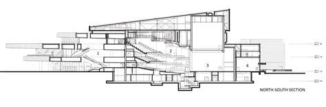 auditorium plan and section gallery of hancher auditorium pelli clarke pelli