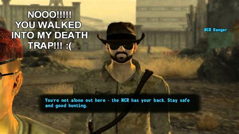 fallout  vegas funny incident   ncr land