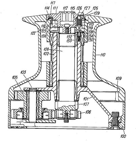 lewmar windlass parts diagram problem servicing a 1970 s lewmar 43 winch cruisers