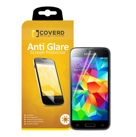 Antiglare Sams coveredgear anti glare sk 228 rmskydd till samsung galaxy s5 themobilestore