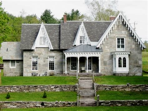 gothic revival homes for sale grey beauties of vermont old stone houses