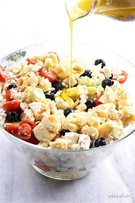 simple pasta salad recipe easy tortellini pasta salad recipe add a pinch