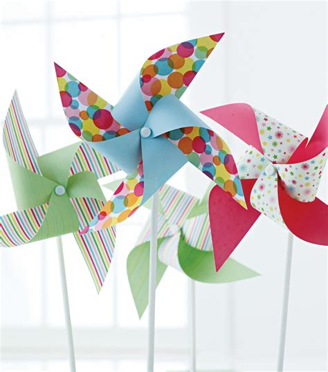 pinwheel paper craft decorate your garden with these pinwheels from