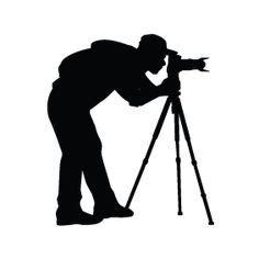 camera clipart black  white  clipart cricut cut