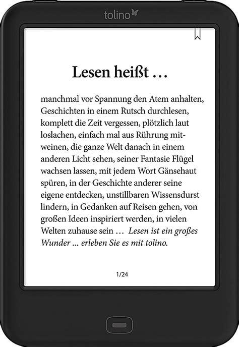 Tolino Shine 2 HD e-Reader Review