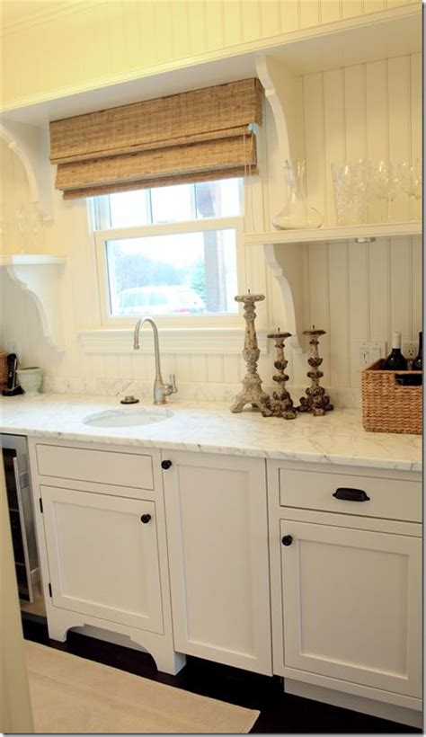 is beadboard in style great all white shaker style cabinets with bead board back