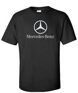 T Shirt Mercedes Logo Black Supergraphictees