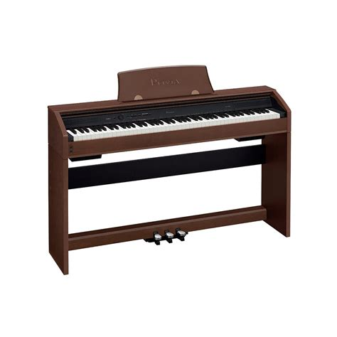 casio piano bench casio privia px 760 88 key digital piano brown with bench