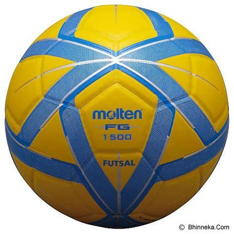 Bola Futsal Murah Berkualitas jual molten bola futsal f9g1500 yellow blue murah bhinneka