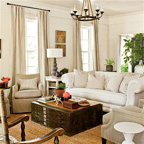 southern living living rooms andrew barnes lifestyle southern living s 2012 idea house farmhouse restoration