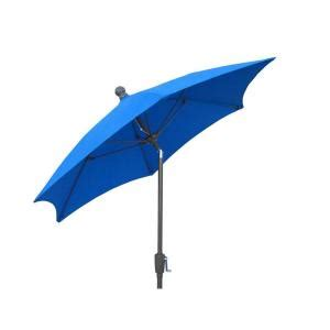 Home Depot Patio Umbrellas by Fiberbuilt Umbrellas 9 Ft Patio Umbrella In Pacific Blue