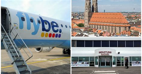 bank flughafen münchen flybe flights to take from cardiff airport to