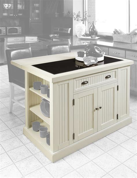 home styles nantucket kitchen island distressed finish by