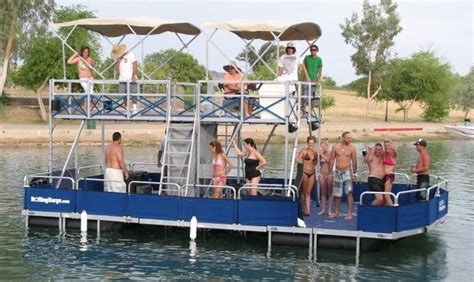 pontoon boats for sale in lake havasu lake havasu party barge rollingbarge pinteres