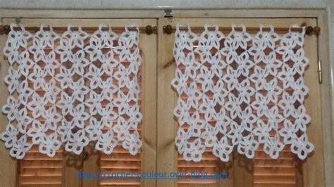Modèles De Rideaux Au Crochet Gratuits brise bises pour ma cuisine crochet d amour