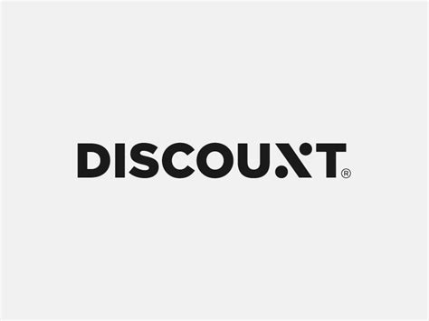 design lab discount discount logotype by paulius kairevicius dribbble