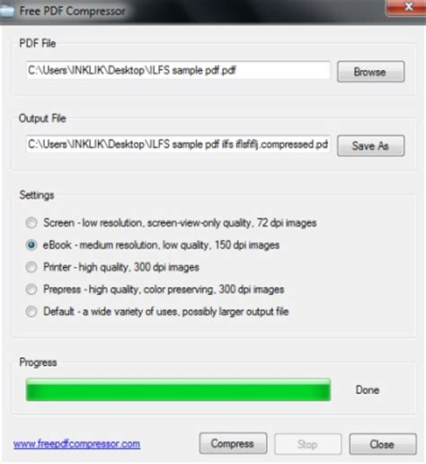 compress pdf online 1mb pdf compressor to efficiently reduce size of a pdf file