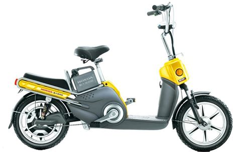 Honda Electric Bike Honda Electric City Bike Scooter