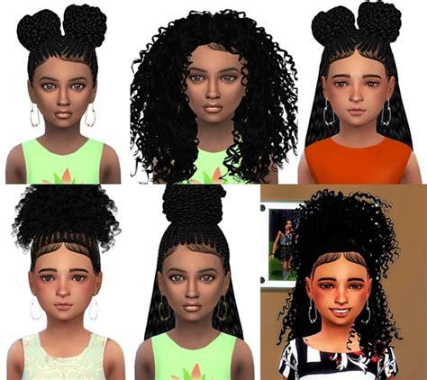 ebonix sims 4 child spwl child hair conv ebonix formation pack nathys sims