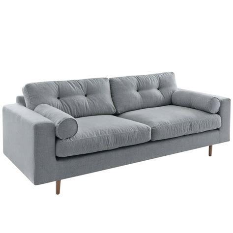 i sofa i sofa bank gilmour 3 seater light gray 214x80x90cm