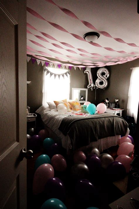 Birthday Bedroom Decoration by Bedroom For Birthday It S Me Kiersten