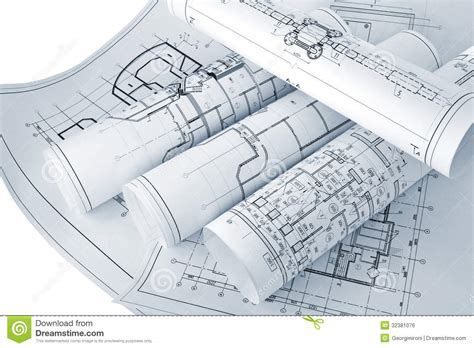 drawing plans project drawings royalty free stock image image 32381076
