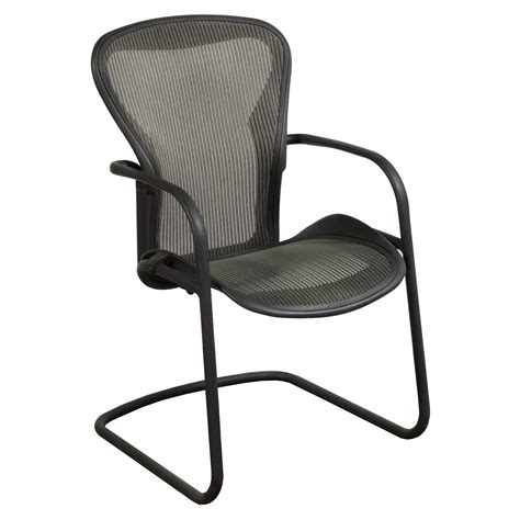 Herman Miller Chairs by Herman Miller Aeron Used Side Chair Nickel National