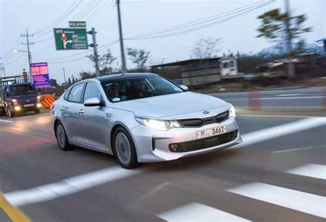 Next Generation Kia Optima Next Generation Kia Optima Powertrains Increasing