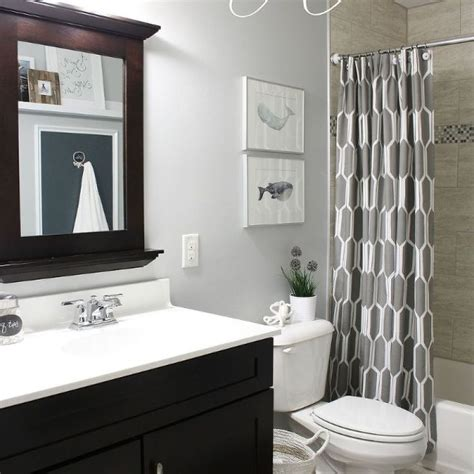 Finished Bathroom Ideas Shared Boys Guest Bathroom Hometalk