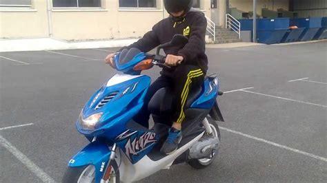 nitro testi test scooter nitro 50cc