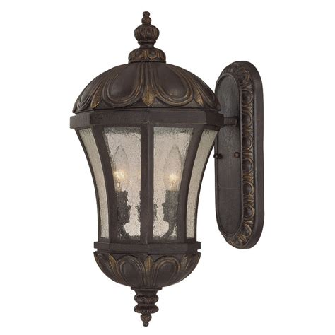 Tuscan Lighting by Shop 19 75 In H Tuscan Outdoor Wall Light At Lowes