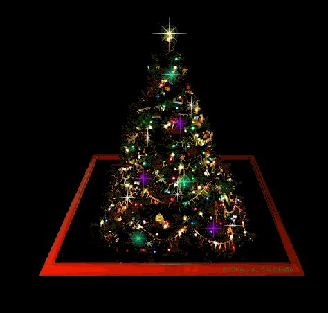 christmas tree gif  gifer  bloodsmasher