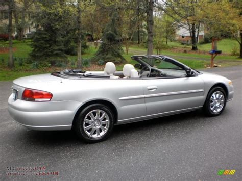 2005 chrysler convertible 2005 chrysler sebring limited convertible in brilliant