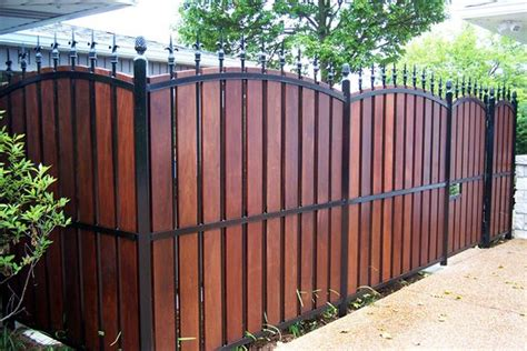 fencing options 1000 ideas about fence landscaping on privacy fence landscaping