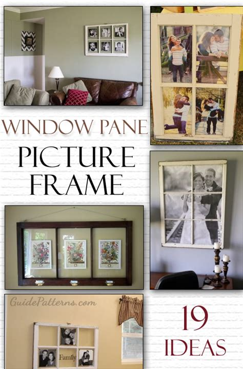 window pane decor diy window pane picture frame 19 ideas guide patterns