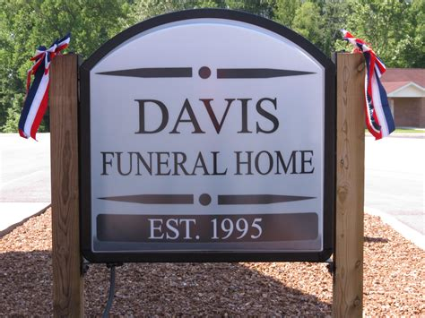 Davis Funeral Home special memorial day service held at davis funeral home in