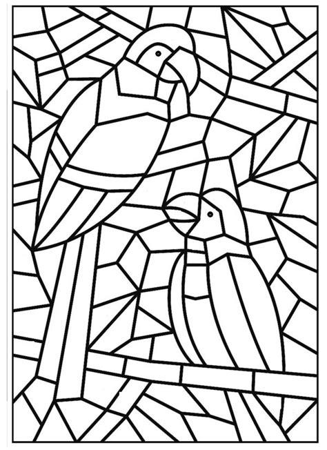 Como Fazer Mosaico de Papel: Fotos   Desenho de mosaico