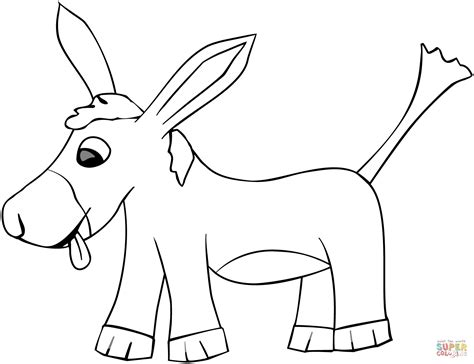 baby donkey coloring page baby donkey coloring pages coloring pages