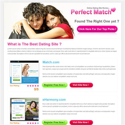 Best Converting And Effective Landing Page Designs For Sale Page 4 Best Dating Website Template