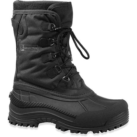 walmart snow boots ozark trail s kendall 40f winter snow boots shoes