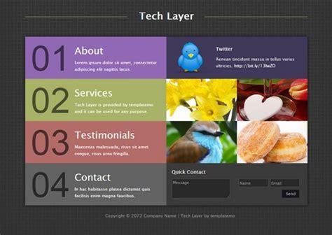 30 free dreamweaver templates designscrazed