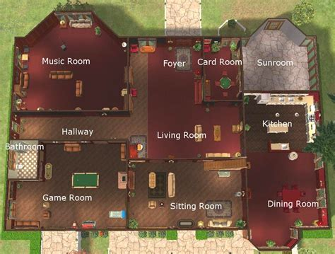 Beach House Layouts inside of sims 3 houses bing images