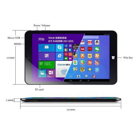 Tablet Windows 8 Terbaik chuwi vi8 dual os windows 8 1 android 4 4 2gb 32gb 8 inch tablet pc black jakartanotebook