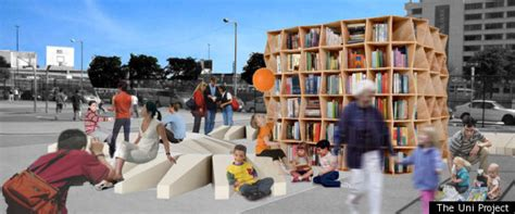 reading space the uni project an open air reading room aims to