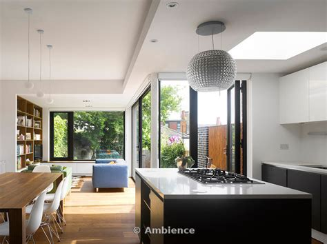 Living Room Extensions Ambience Images Living Room Dining Room And Kitchen Of